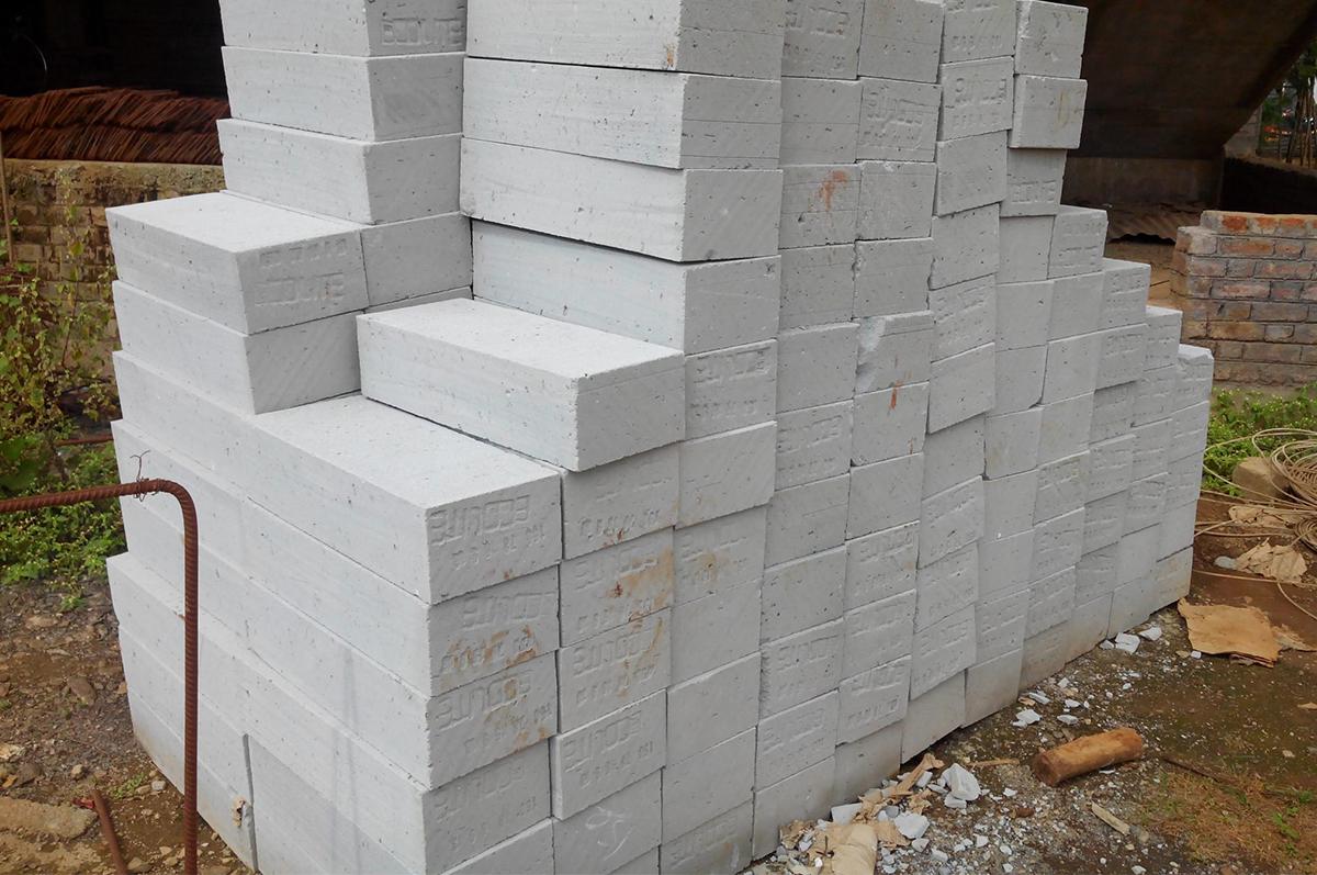 Блоки из газобетона