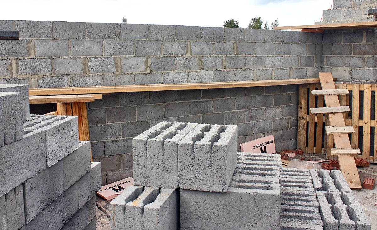 Блоки для строительства жилых домов