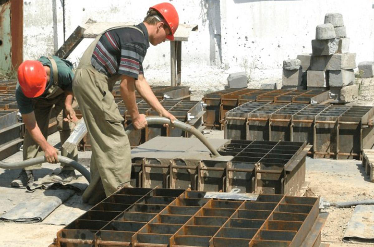 Изготовление пеноблоков
