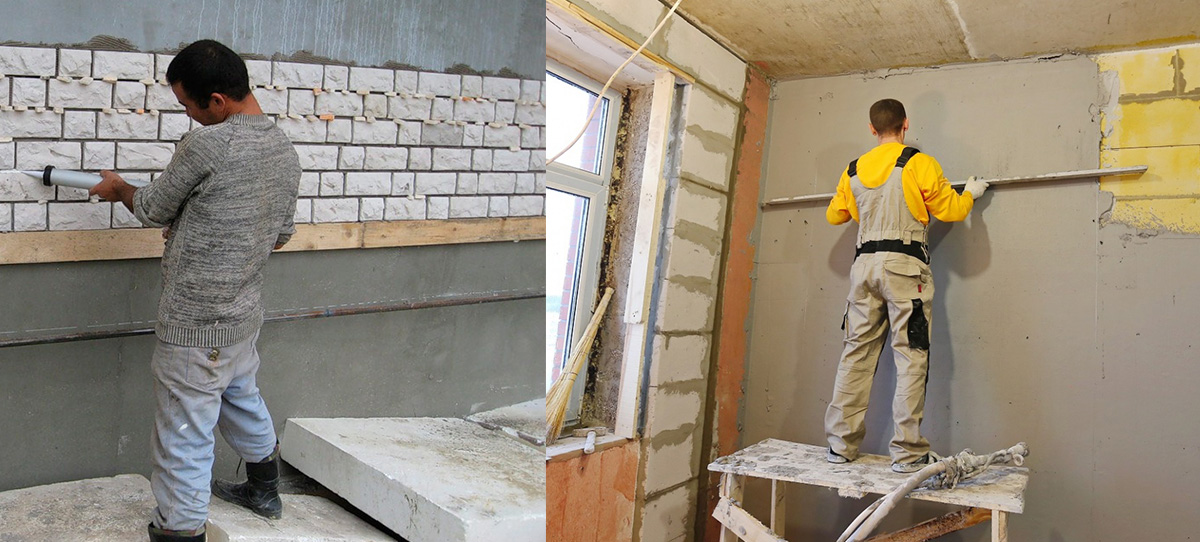 Фасадная и внутренняя отделки поверхностей