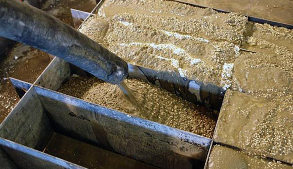Изготовление блоков из полистиролбетона