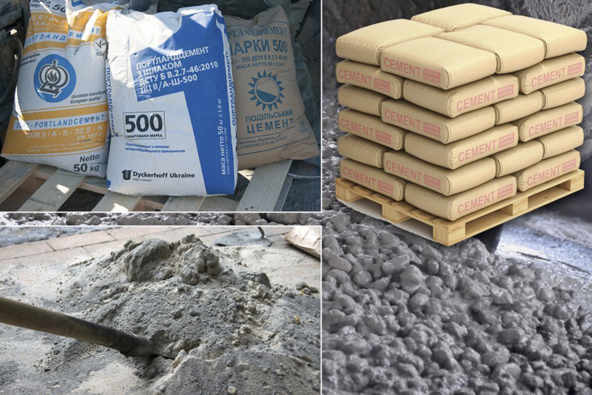 Цемент и портландцемент