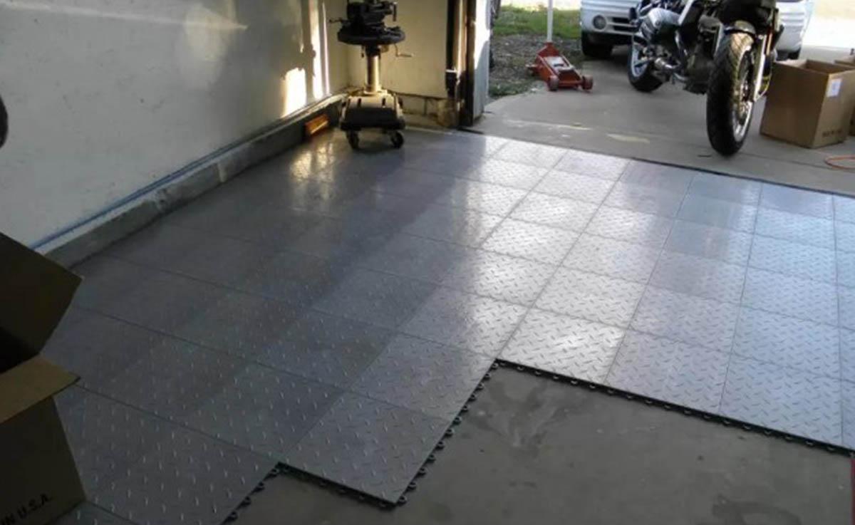 Финишное покрытие в гараже