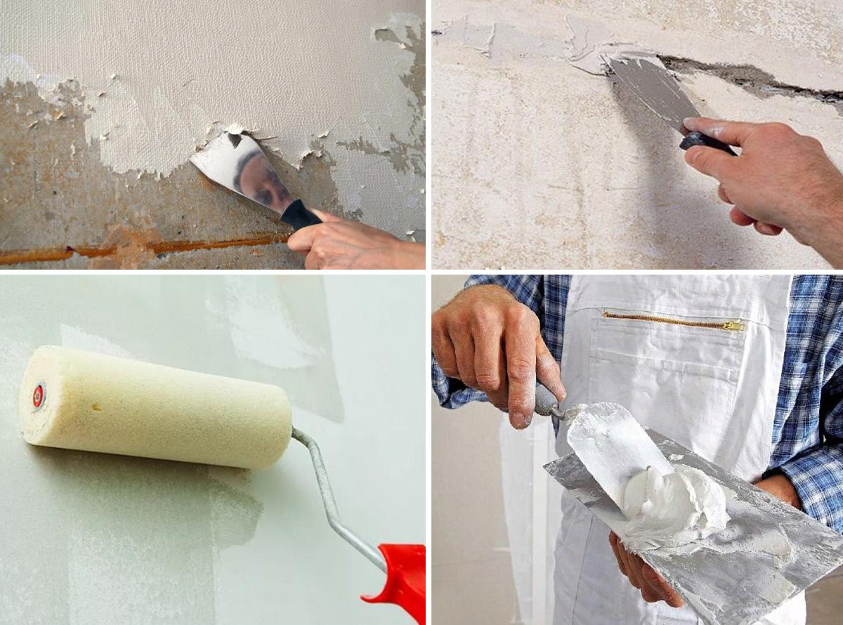 Подготовка стен под шпаклёвку