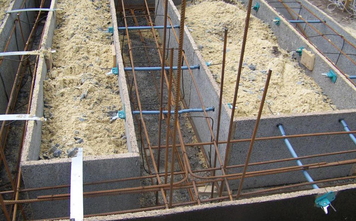 Несъемная опалубка из цементно-стружечной плиты
