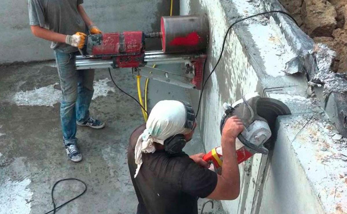 Способы алмазной резки бетона