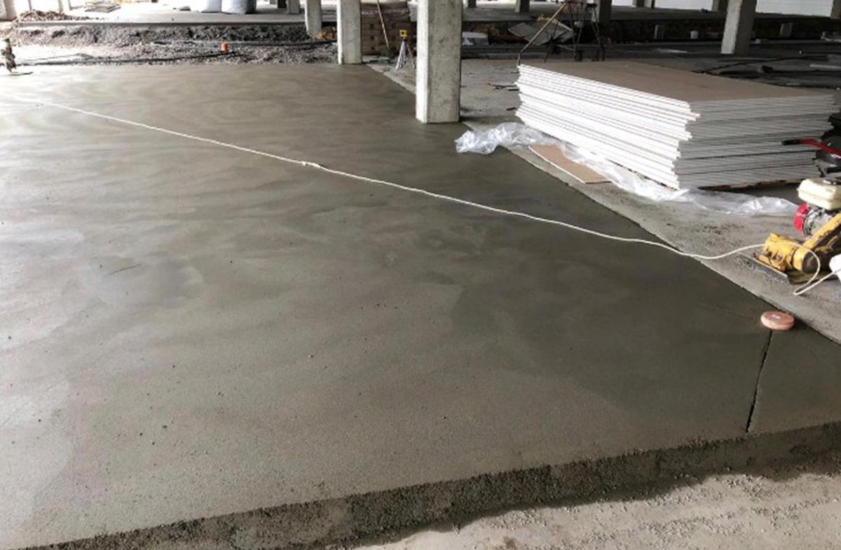 Песчано-цементная стяжка под покрытие