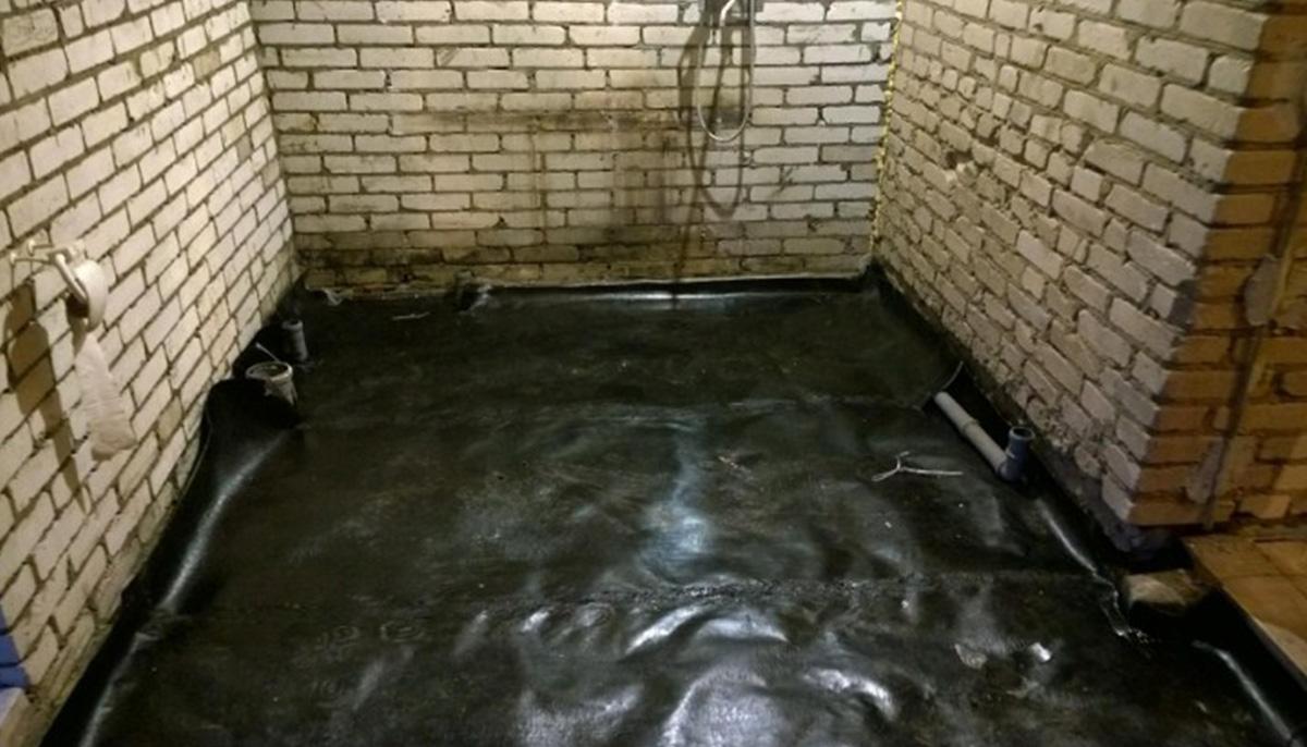 Гидроизоляция пола в подвале под стяжку