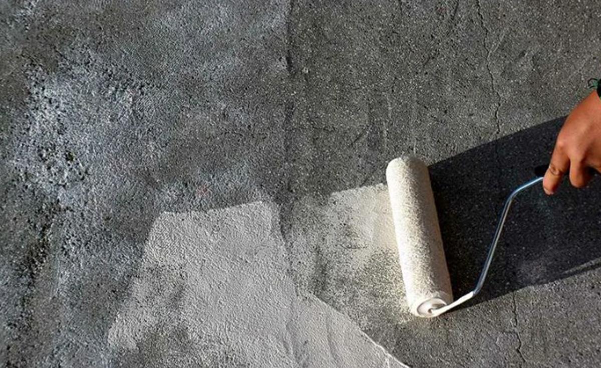 Грунтовка бетонной поверхности