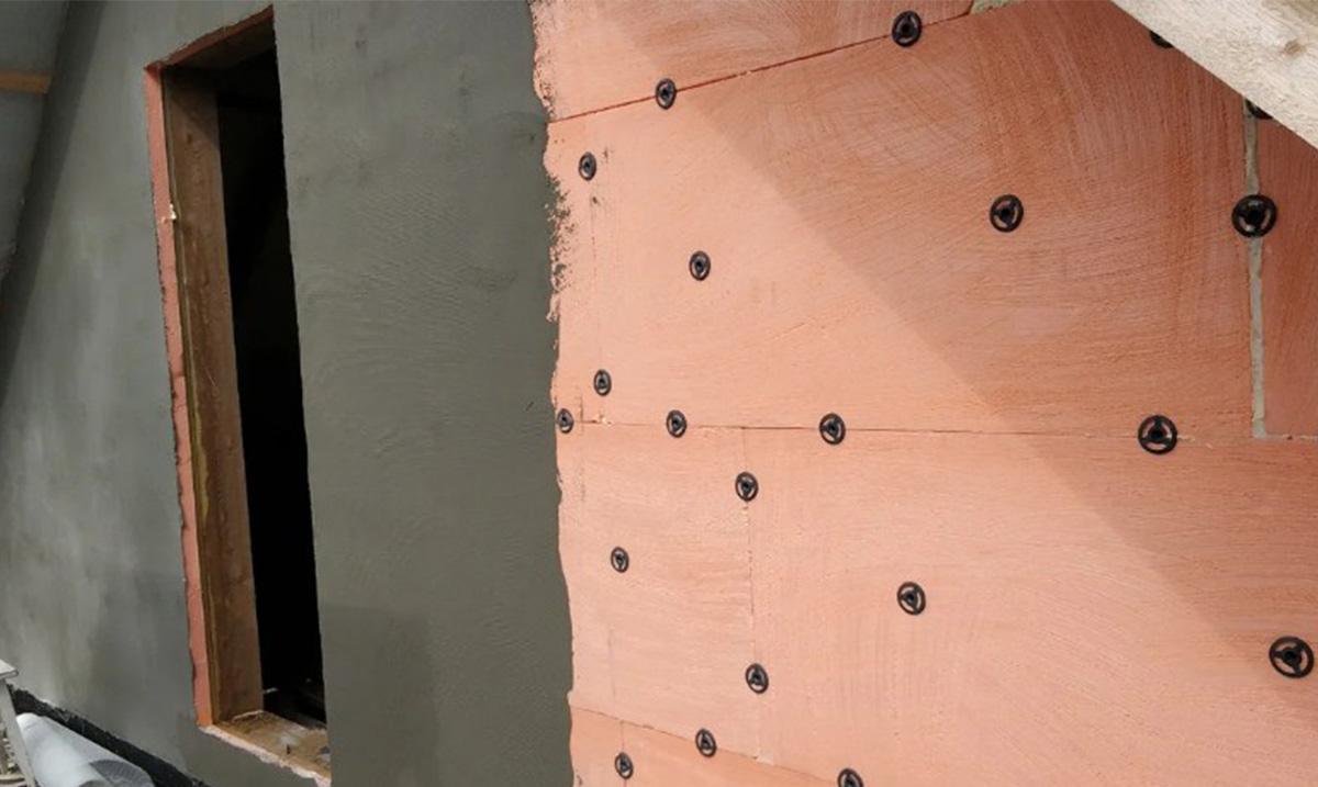 Защита пеноплекса от солнечных лучей штукатуркой