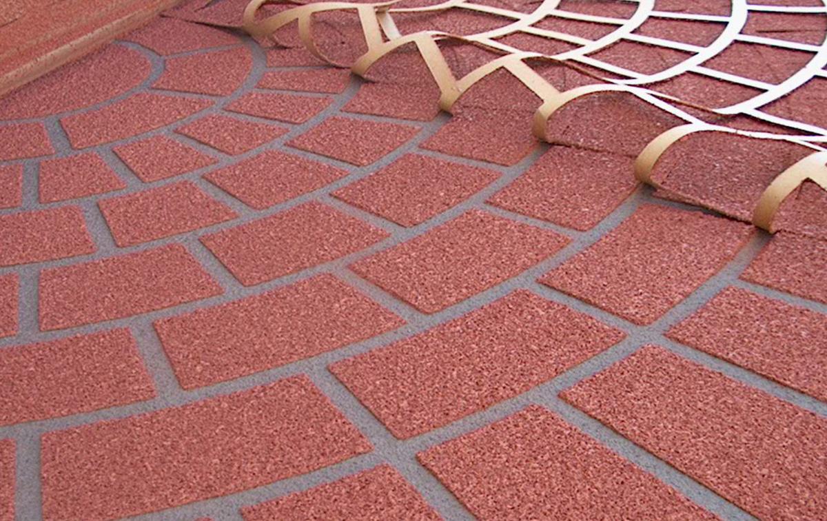 Декоративный бетон рисунок под плитку