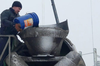 Добавление гидроизоляционных добавок в бетон