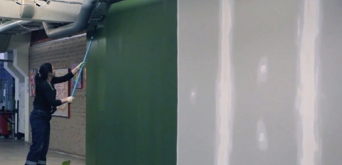 Покраска гипсокартона