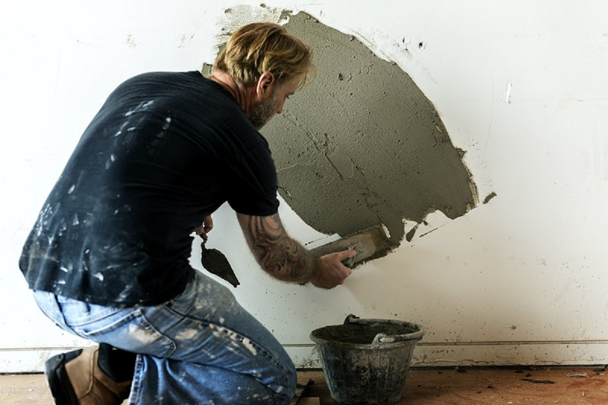 Шпаклевка цемент