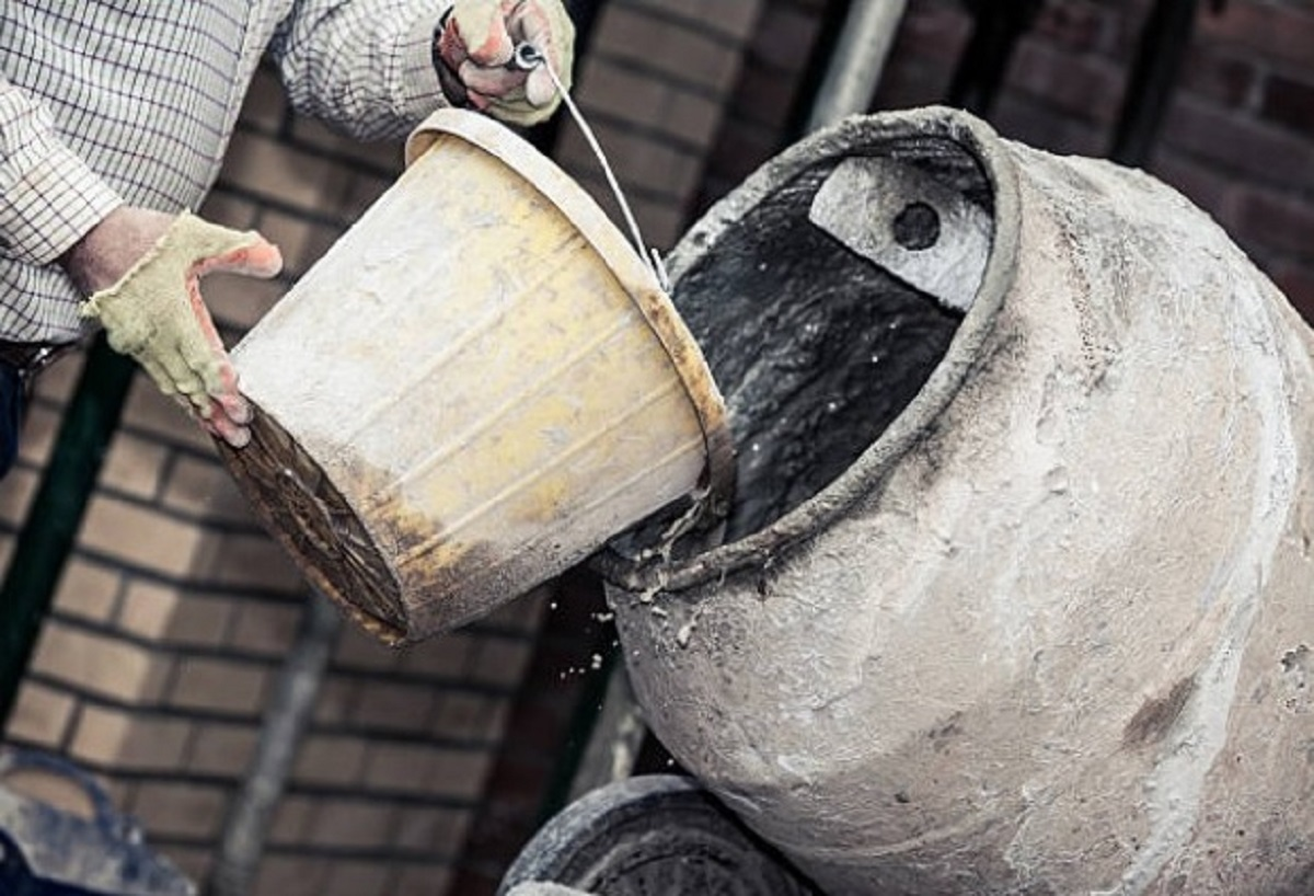 Смешивание бетона