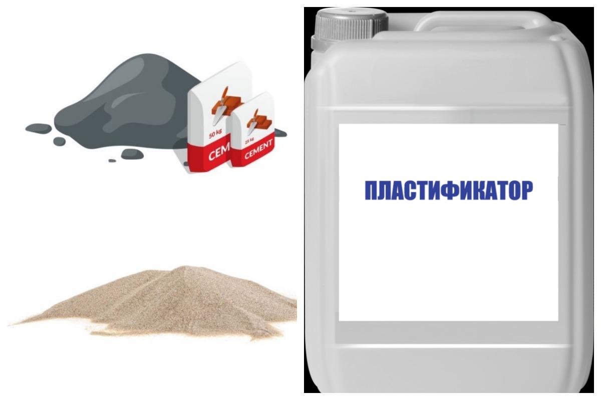 Состав пескобетона