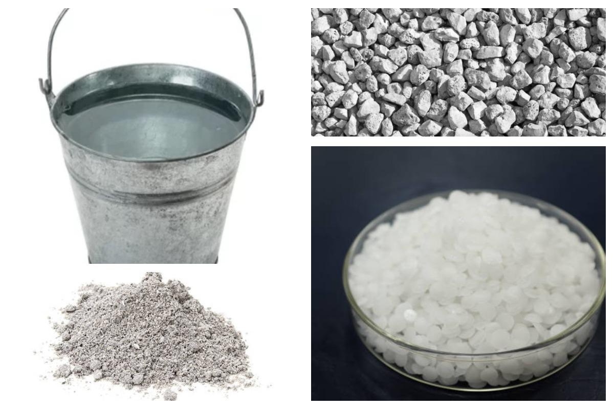 Компоненты полимерного бетона